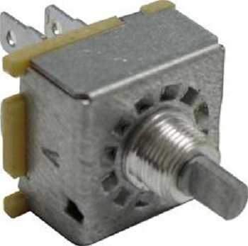 3 Speed Fan/Mode Rotary Switch