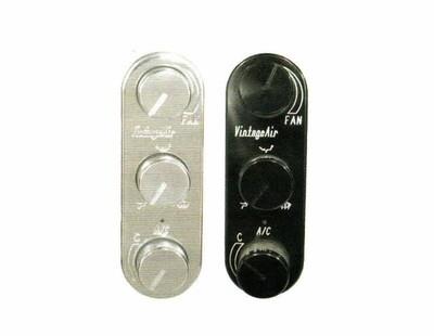 Gen IV Vertical 3 Knob Proline Oval Control Panels