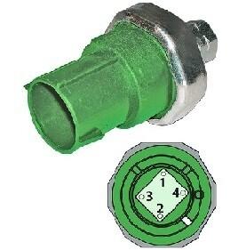 Binary-Condenser Fan/Hi-Pressure Cut-Off Switch