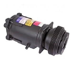 A6 140mm 6 Groove 12 Volt Metric Mount PAD Compressor