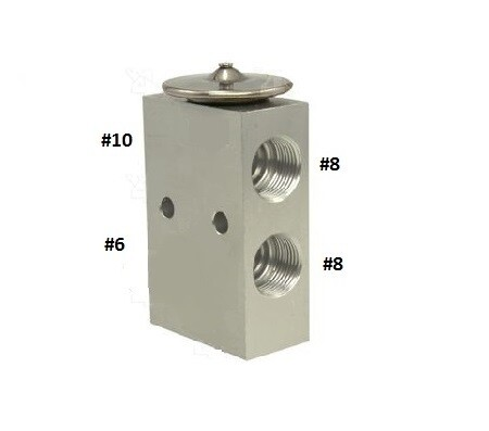 Expansion Valve Block 1.5T With Mounting Holes