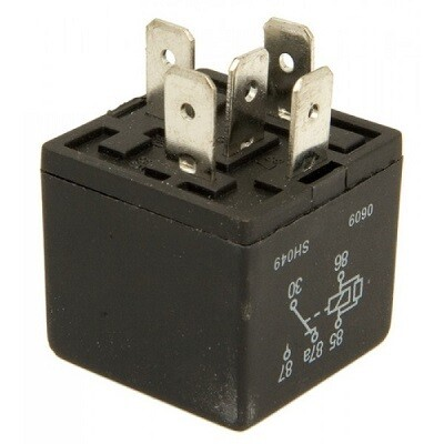 30-40 AMP 5 Terminal 12 Volt Relay Without Bracket