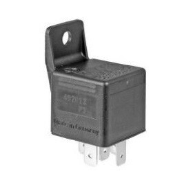 40 AMP 5 Terminal 12 Volt Dual Output Relay With Bracket
