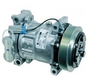 SD7H15 130mm 6 Groove 12 Volt Direct Mount PAD Compressor