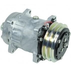 SD7H15 125mm 2 Groove 12 Volt Ear Mount HTO Compressor
