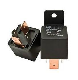 50 AMP 4 Terminal 12 Volt Relay With Resistor & Bracket