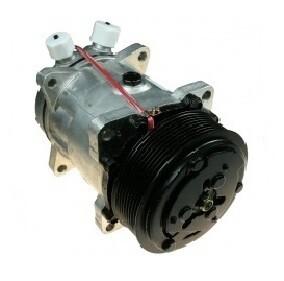 SD7H15 119mm 8 Groove 12 Volt Ear Mount VOR Compressor