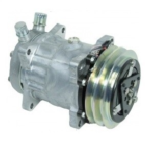 SD7H15 125mm 2 Groove 12 Volt Ear Mount VOR Compressor