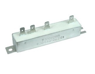 3 Speed 4 Terminal 12 Volt Metal Case Short Resistor