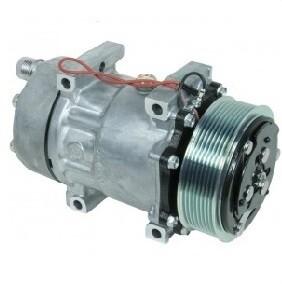 SD7H15 119mm 8 Groove 12 Volt Direct Mount HOR Compressor