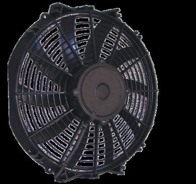 """12"""" 225 Watt Low Profile Curved Blade Reversible Fan Assembly"""