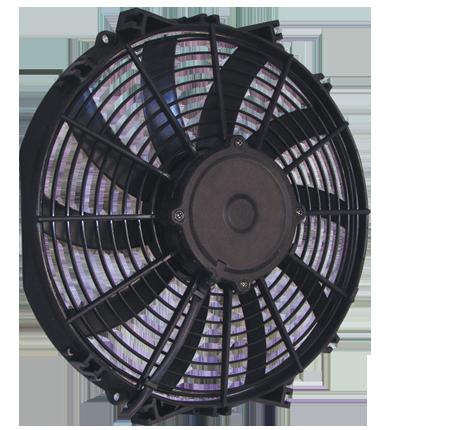 """12"""" 130 Watt Low Profile Curved Blade Reversible Fan Assembly"""