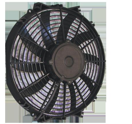"""14"""" 225 Watt Low Profile Curved Blade Reversible Fan Assembly"""