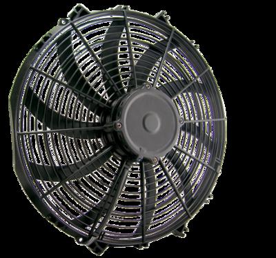 """16"""" 225 Watt Low Profile Curved Blade Reversible Fan Assembly"""