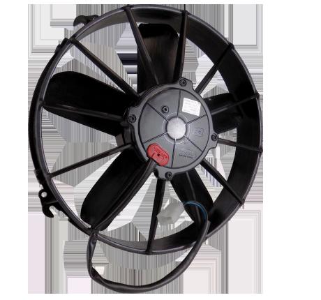 "12"" 225 Watt High Profile Straight Blade Puller Fan Assembly"
