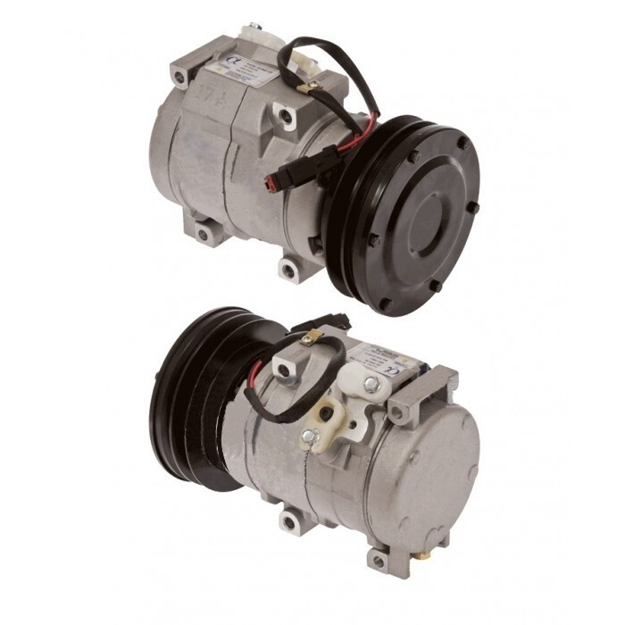 10S17C 70.8mm 1 Groove 24 Volt Direct Mount PAD Compressor
