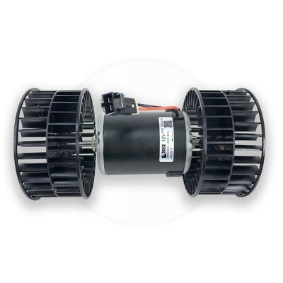 1 Speed 12 Volt Double Shaft Blower Motor With Wheels