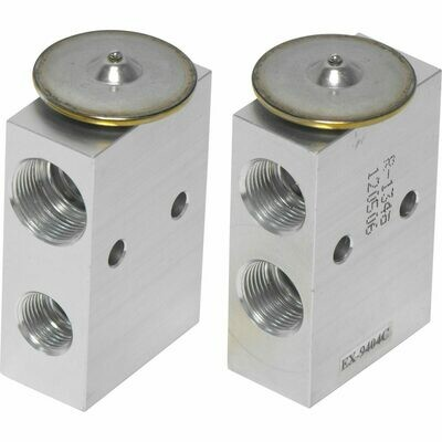 2T With Mounting Holes Expansion Valve Block