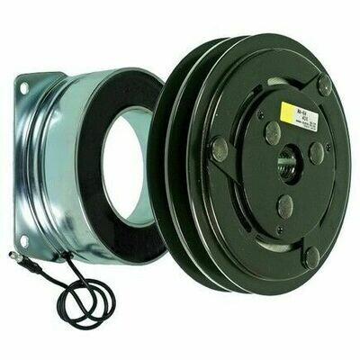 HD York 152mm 2 Groove 12 Volt Leaf Clutch