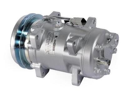 SD510 138.5mm 1 Groove 12 Volt QM Compressor
