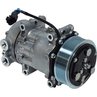 SD7H15 119mm 8 Groove 12 Volt Direct Mount PAD Compressor