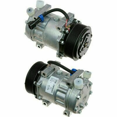 SD7H15 119mm 8 Groove 12 Volt Direct Mount VOR Compressor
