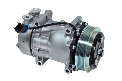 SD7H15 125mm 6 Groove 12 Volt Direct Mount PAD Compressor