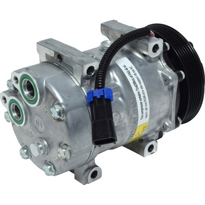 SD7H15 132mm 6 Groove 12 Volt Direct Mount PAD Compressor