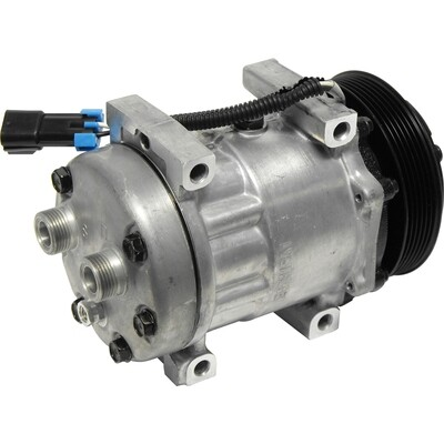 SD7H15 125mm 6 Groove 12 Volt Direct Mount HTO Compressor