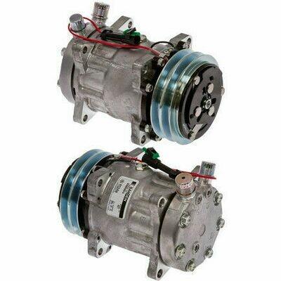 SD7H15HD 125mm 2 Groove 12 Volt Ear Mount VOR Compressor
