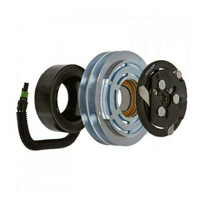 SD7H15HD 132mm 2 Groove 12 Volt Leaf Clutch