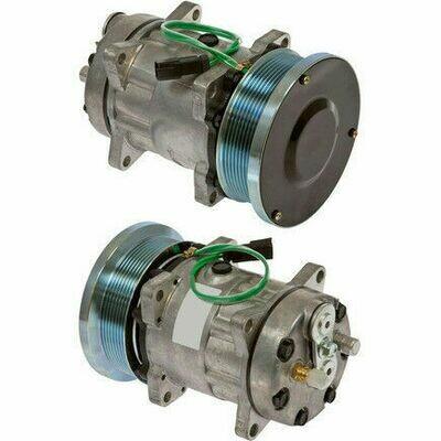 SD7H15HD 132mm 8 Groove 24 Volt Ear Mount PAD Compressor