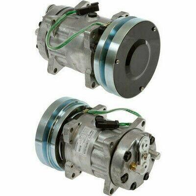 SD7H15S 152mm 1 Groove 24 Volt Ear Mount PAD Compressor