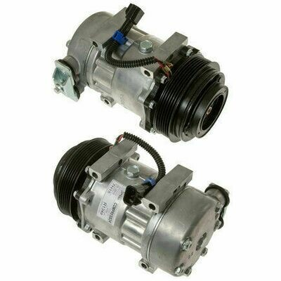 SD7H15SHD 119mm 6 Groove 12 Volt Direct Mount PAD Compressor