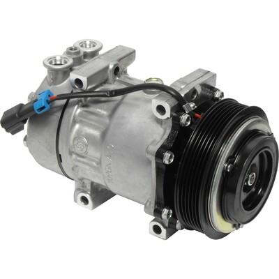 SD7H15SHD 125mm 6 Groove 12 Volt Direct Mount PAD Compressor