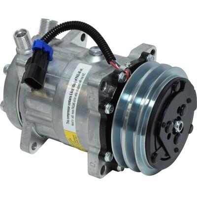 SD7H15SHD 125mm 2 Groove 12 Volt Ear Mount VOR Compressor