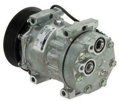 SD7H15SHD 130mm 8 Groove 12 Volt Direct Mount PAD Compressor