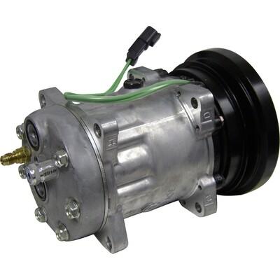 SD7H15SHD 138mm 1 Groove 24 Volt Ear Mount PAD Compressor