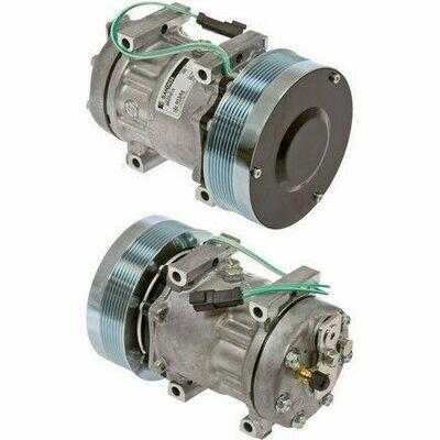 SD7H15SHD 152mm 8 Grooves 24 Volt Direct Mount PAD Compressor