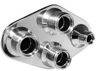 4-Way Diamond A/C Heater (8-10 Male O-Ring)