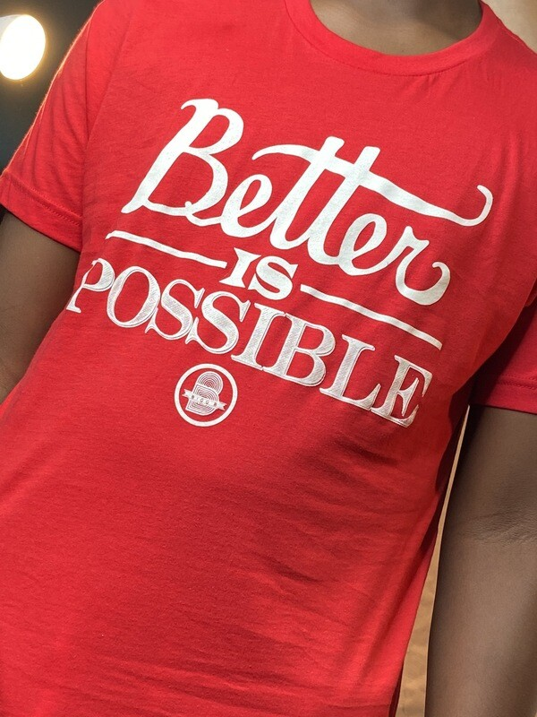 Better Is Possible Red