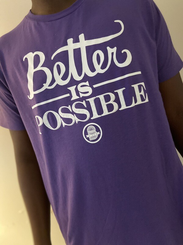 "Better Is Possible ""Purple"""