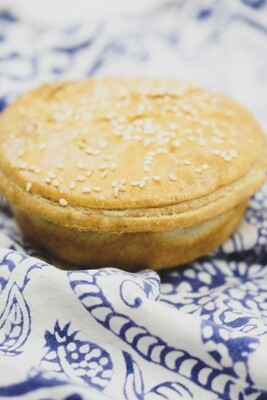 Pie (Vegan option available)
