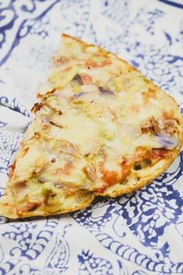 Pizza bread slice