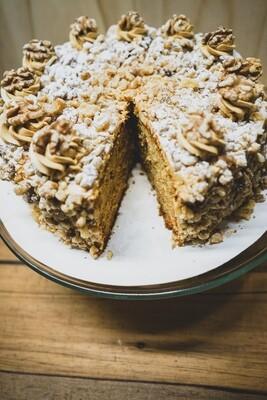 Honey cake (whole, serves 12-16)