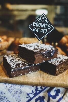 Brownie (gluten free, diary free)