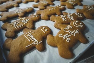 Gingerbread man (big cookie)