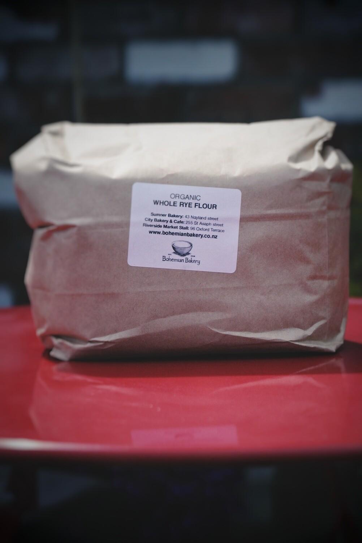 Organic RYE flour 2kg
