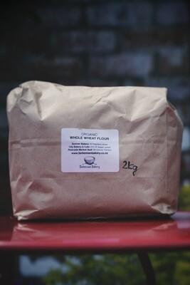 Organic WHOLEWHEAT flour 2kg