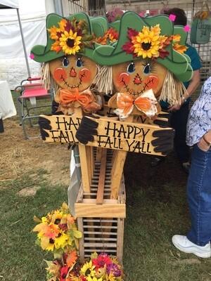 Scarecrow Yard Sign.
